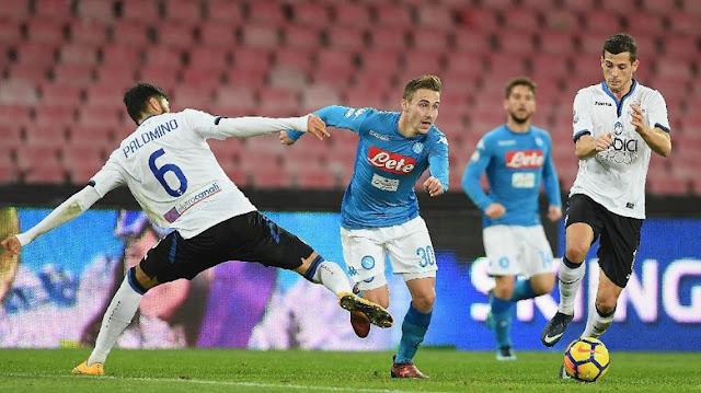 Coppa Italia: Napoli Disingkirkan Atalanta