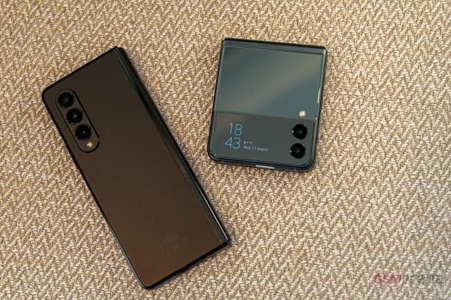 Samsung Galaxy Z Fold3 5G و Z Flip3 5G: مطوي وغير مطوي