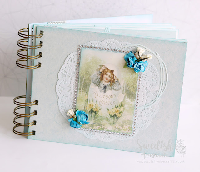Easter mini-album using Pion Design papers | By Anna Sigga