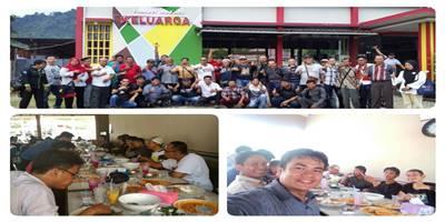 SMSI, PPWI, AWAK, AJO Indonesia - Sumbar, Bersatu Dalam IKW, Rekreasi Sambut Ramadan 1439 H