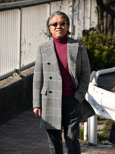 40代メンズのコートのコーディネート