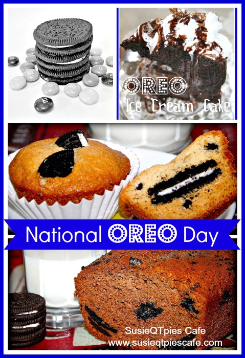 SusieQTpies Cafe: National Oreo Day Recipes