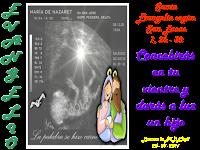 Resultado de imagen para A los seis meses, el ángel Gabriel fue enviado por Dios a una ciudad de Galilea