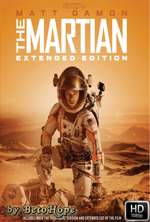 Marte (The Martian) Extended [2015] [Latino-Ingles] HD 1080P [Google Drive] GloboTV