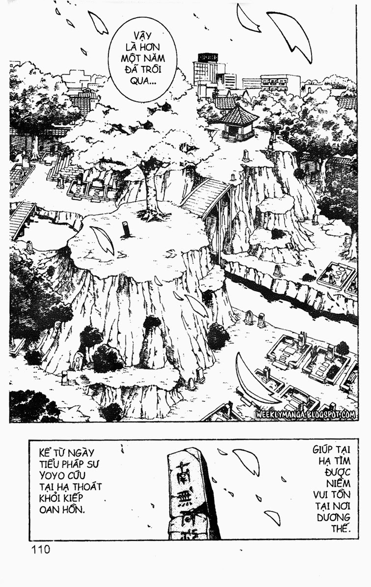 Shaman King [Vua pháp thuật] chap 128 trang 14