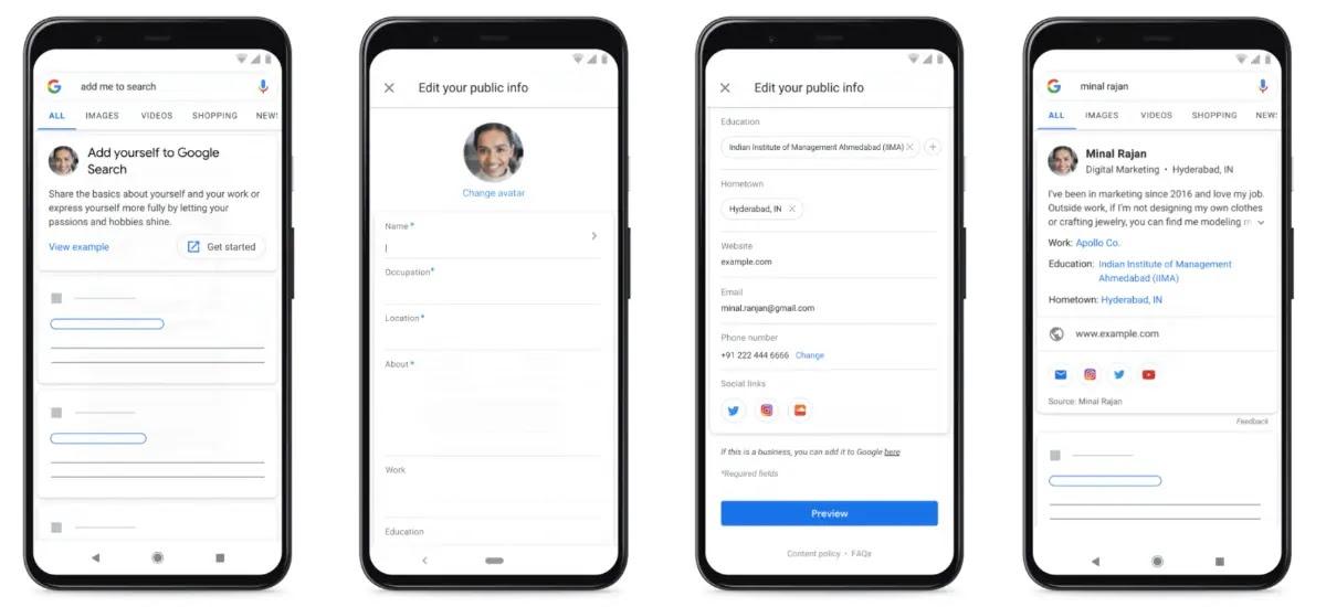 google search people card create 1597120985069