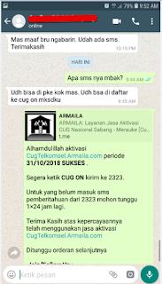 Testimoni CUG Telkomsel Kartu Pasangan Kartu Komunitas Kartu Soulmate Kartu Couple 31 Oktober 2018 2
