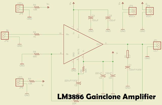 LM3886 Gainclone