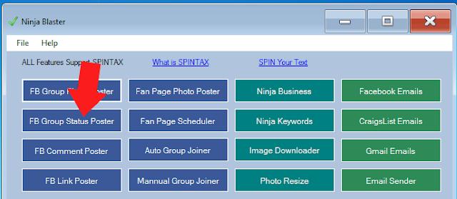 Ninja Blaster Features