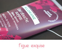 gel douche figue exquise de klorane