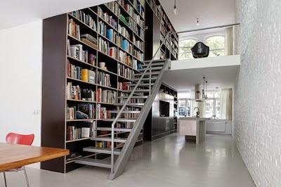 Ruang Baca Buku Minimalis