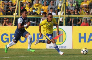 Barito Putera vs Arema FC 0-0 Highlights
