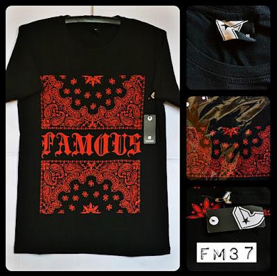 Kaos Distro Surfing Skate FAMOUS Premium Kode: FM37