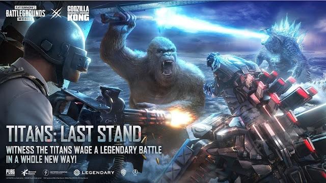 PUBG Mobile Titans Last Stand new Mode download APK file