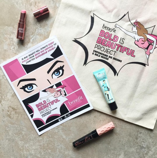 Benefit Canada Bold is Beautiful Project
