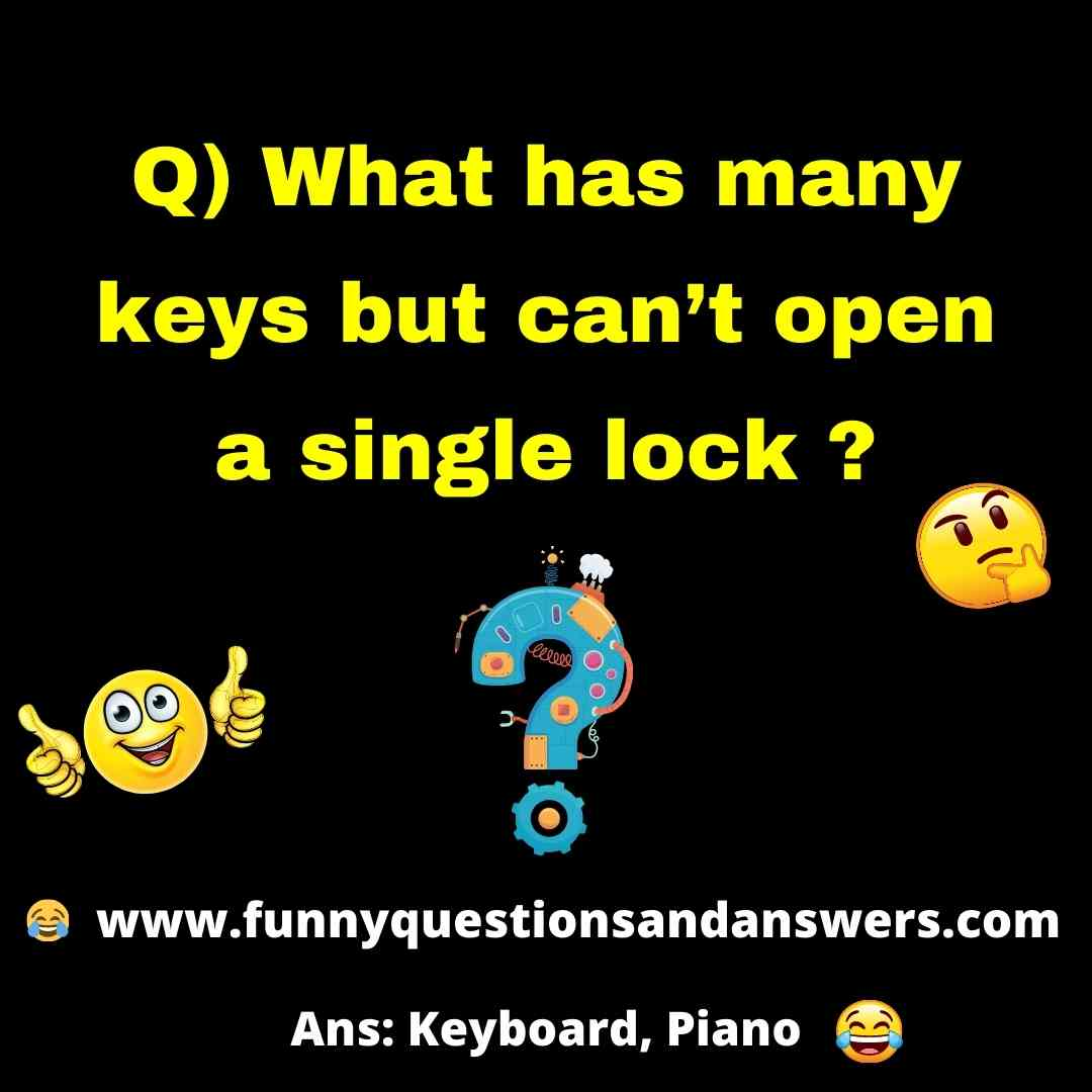 Funny Riddles And Answers For kids