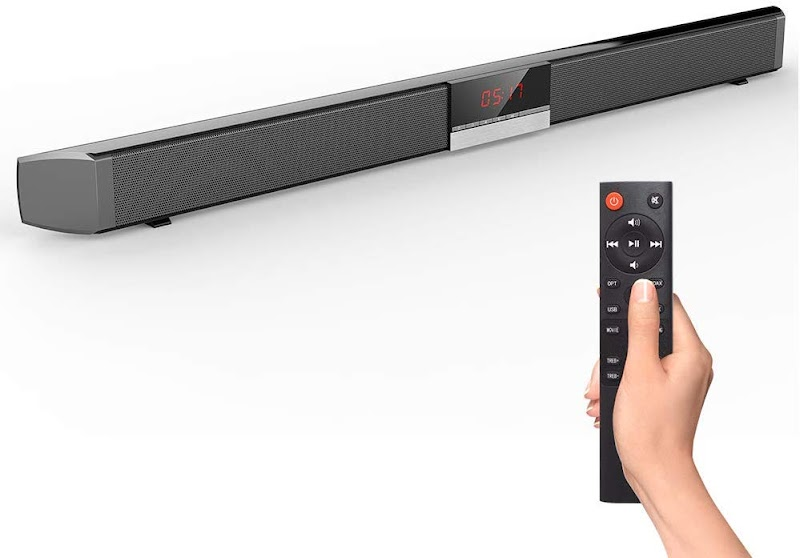 65% off 2.0 Channel Wired&Wireless Bluetooth Stereo Soundbar