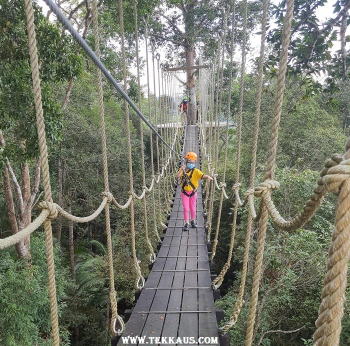 Penang Hill Suspended Rope Bridge Jungle Walk