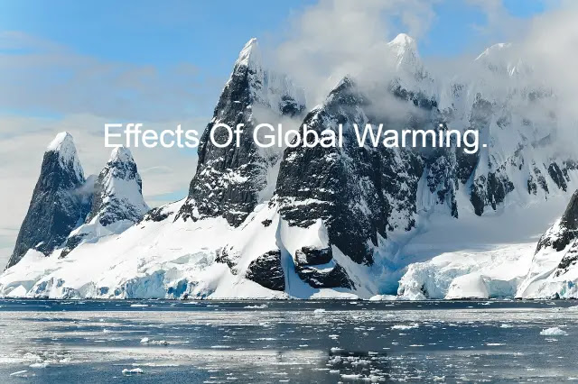 Effects Of Global Warming.