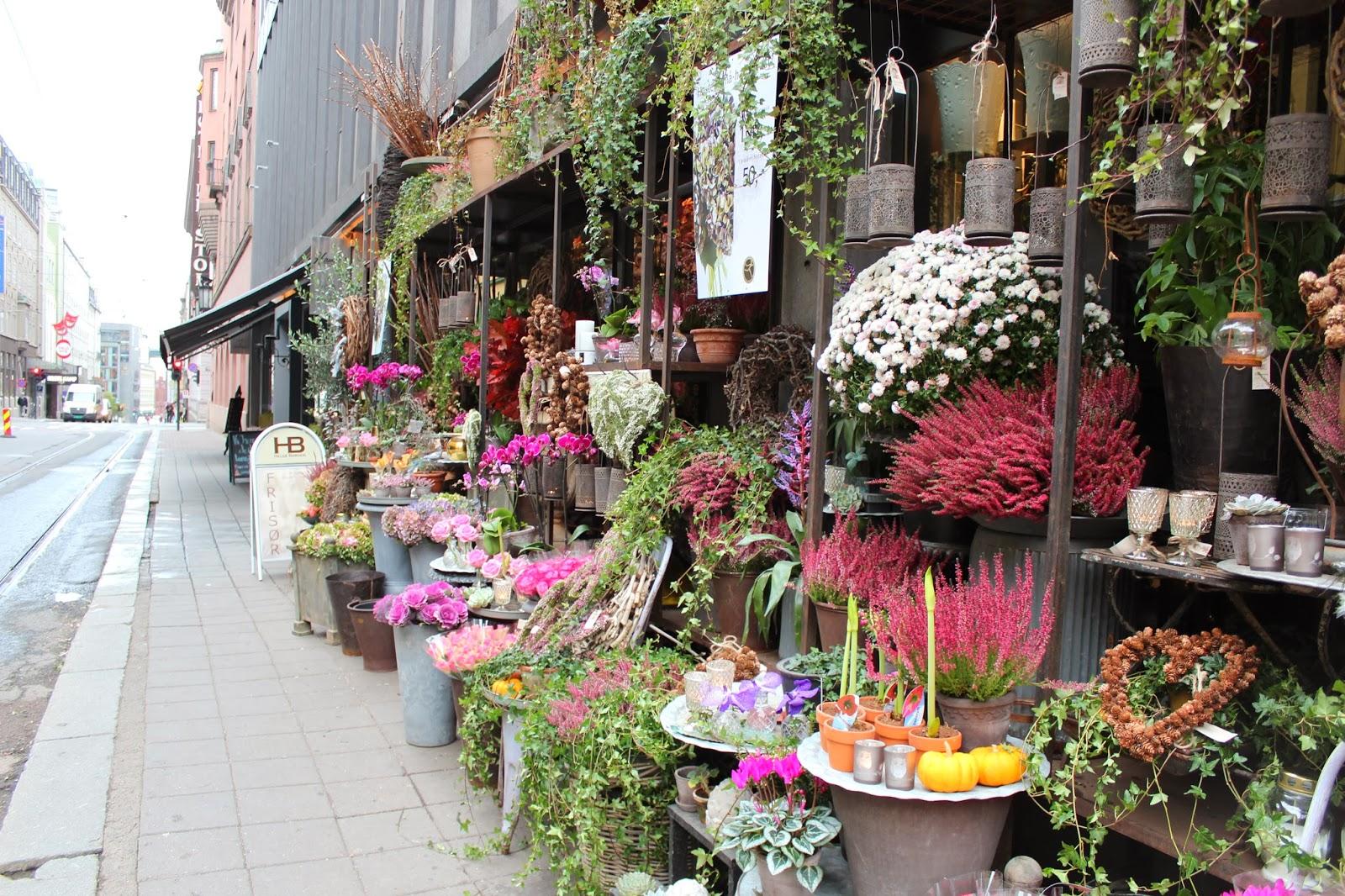 blomsterbutikk oslo sentrum