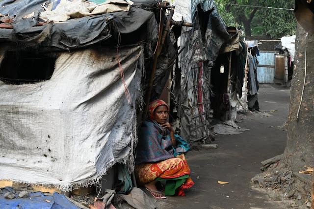 भारत में मलिन बस्तियों के बसावट के कारणों की चर्चा करें। सरकार द्वारा मलिन बस्तियों के विकास के लिए किया किया किए जारहे हैं ।