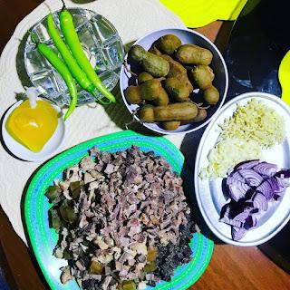 How to cook beef papaitan