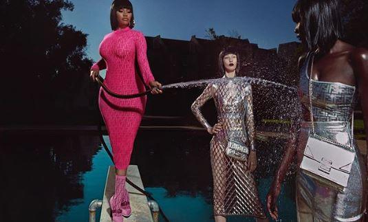 Nicki Minaj Launches Fendi Line