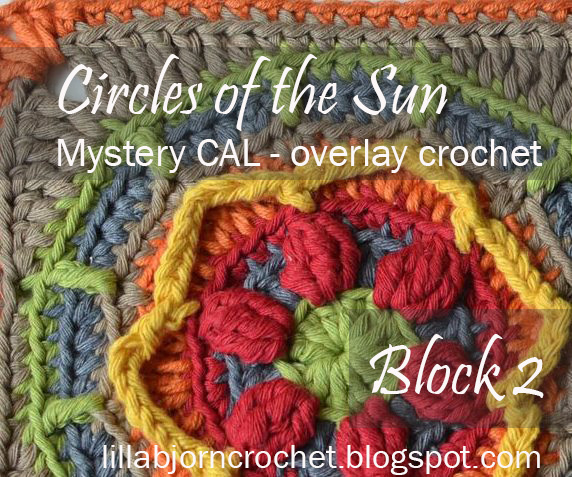 Circles Of The Sun Cal Block 2 Lillabjrns Crochet World