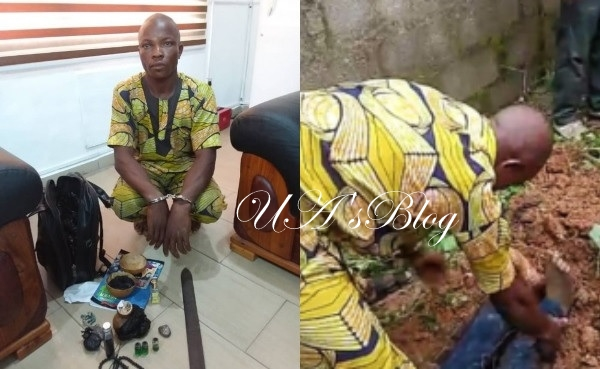 See Face Of Man Who Killed Okada Rider And Harvested His Intestine For Money Ritual (Photos)