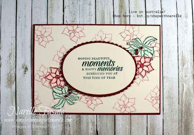 Christmas Cards made easy with the Timeless Tidings Stamp set. Get yours here - http://bit.ly/TimelessTidingsStampSet