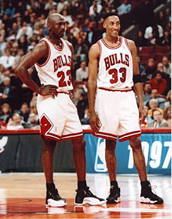 michael jordan and scottie pippen, NBA