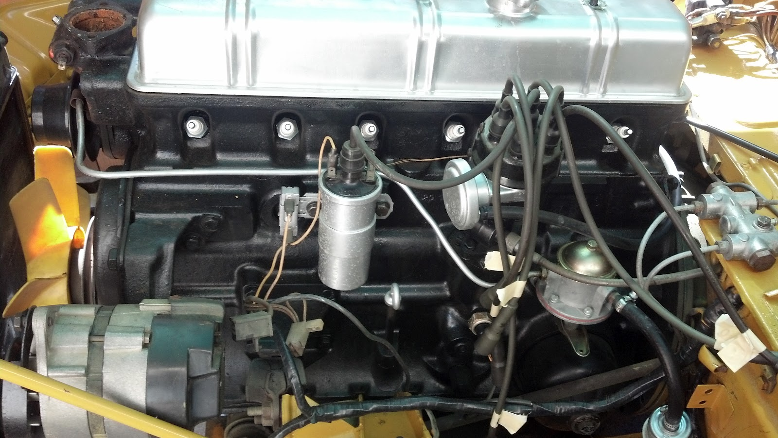 Triumph Engine and Gearbox rebuild: 1971 Triumph GT6 Engine and