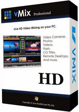 vMix Pro 19.0.0.42 poster box cover