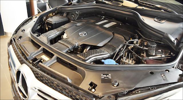 Động cơ Mercedes GLE 400 4MATIC 2019 vận hành mạnh mẽ và vượt trội