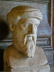 Patung Pythagoras