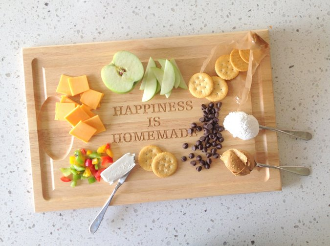 3 creative cracker snack topping ideas