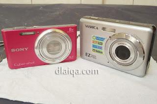 suksesor kamera saku yang lama