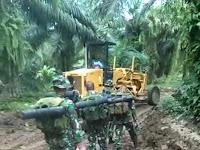 Hadir di Desa Pelosok, Satgas TMMD Kodim DS Berikan Multi Manfaat