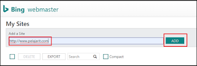 Cara Daftar Bing Webmaster Tool