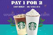 Promo Starbucks Bayar 1 Dapat 2 Dan Cashback 20% Dengan OVO Setiap Senin