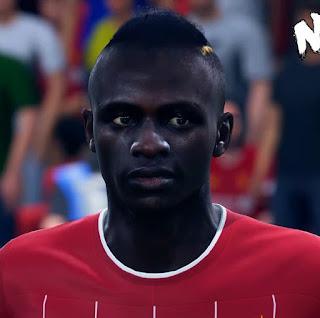 FIFA 19 Faces Sadio Mane by CrazyRabbit