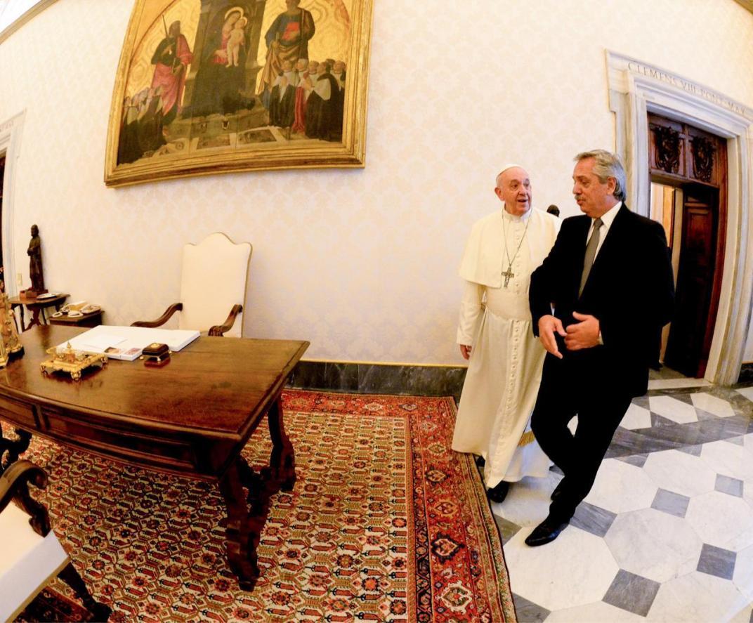 Reunión de ambos mandatarios