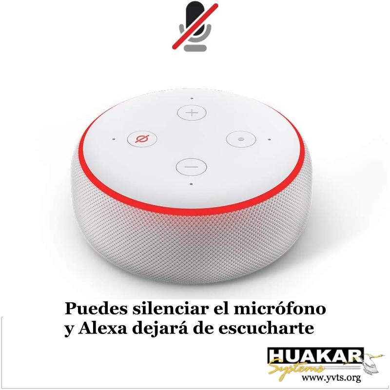 HS-AS-1001 - Alexa Echo Dot 3