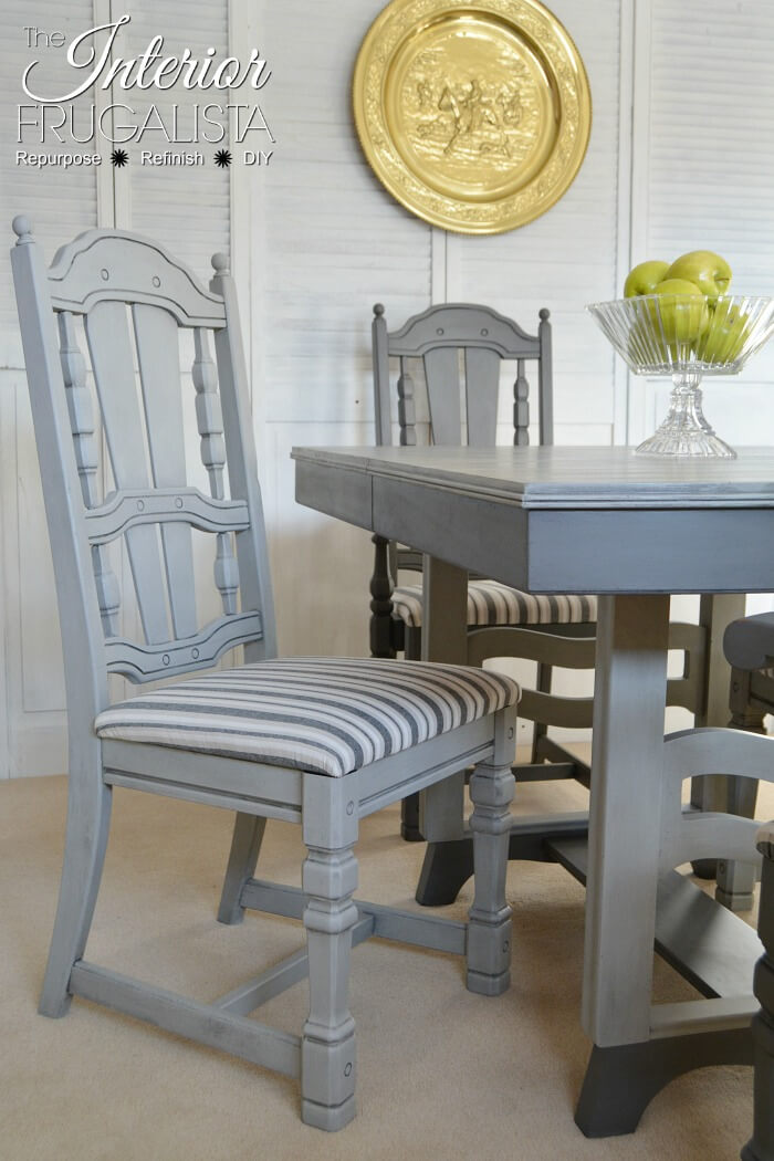 Two Tone Grey Dining Room Set - 2nd Most Popular Post of 2018