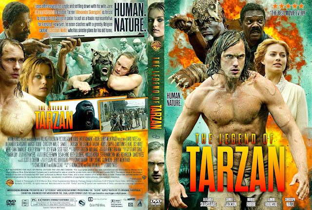 The Legend Of Tarzan DVD Cover