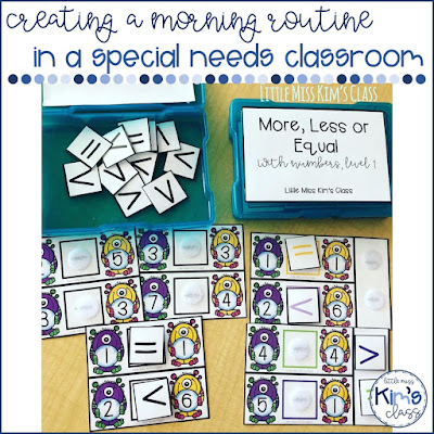 Morning Routine in Special Education Classroom
