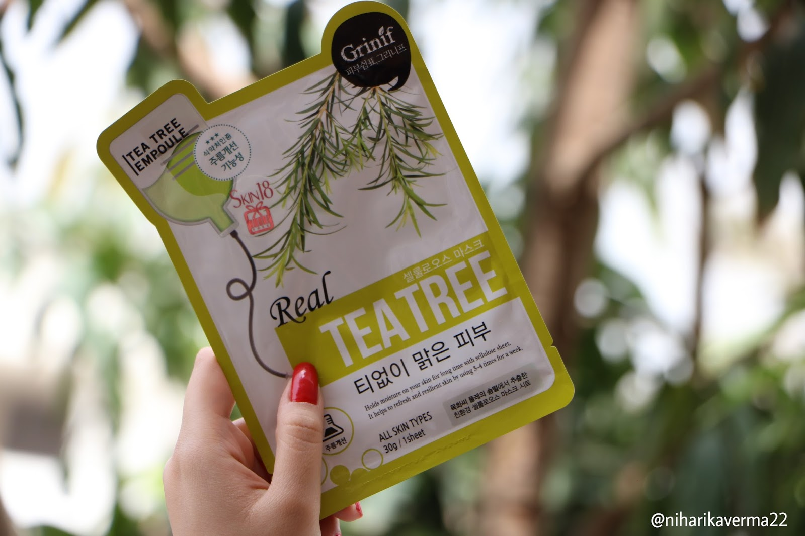 The Pink Velvet Blog - Real Tea Tree Skin18