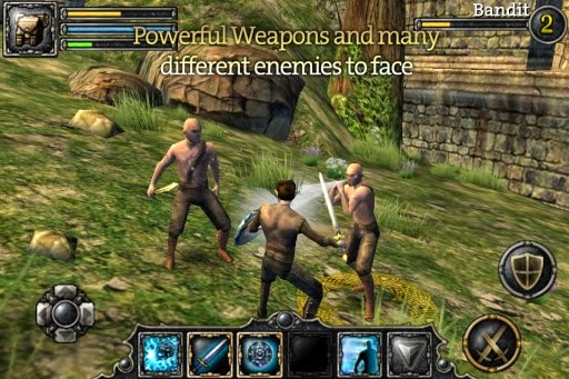 Game Aralon Sword And Shadow HD Full Apk + Data Android