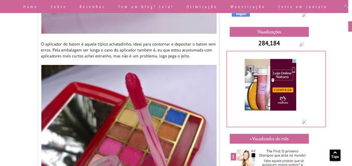 Como colocar anúncios na sidebar no blogger
