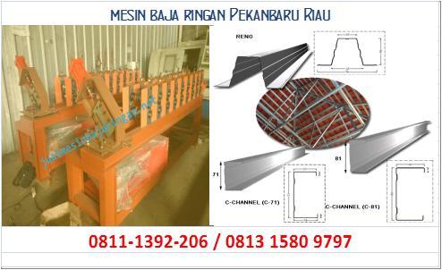 mesin baja ringan Pekanbaru Riau